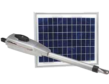 Solar Power Gate Opener