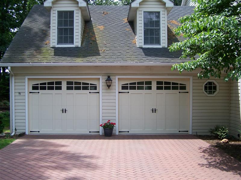 Precision Overhead Door Garage Of Closed